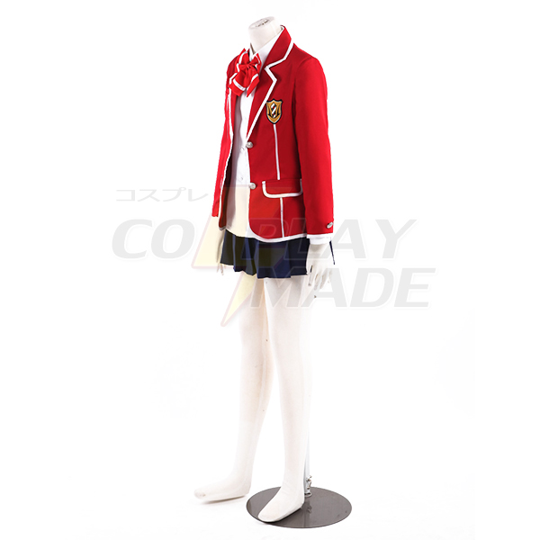 Guilty Crown Yuzuriha Inori Tennouzu High School Uniform Cosplay Costume