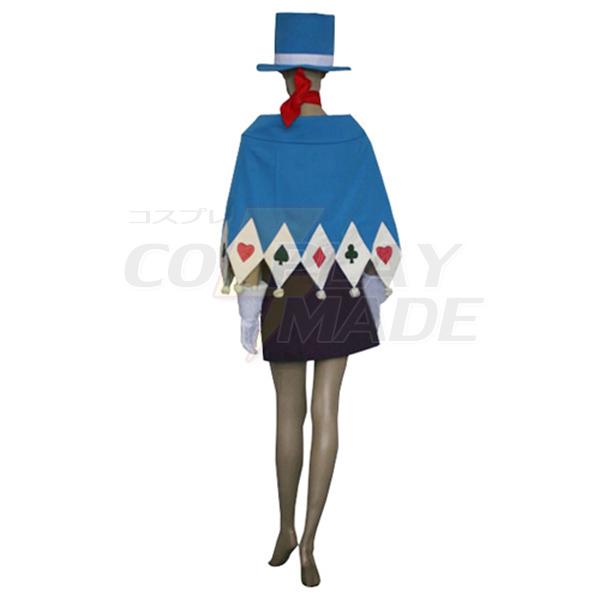 Gyakuten Saiban Phoenix Wright Ace Attorney Trucy Wright Naruhodou Minuki Cosplay Costume