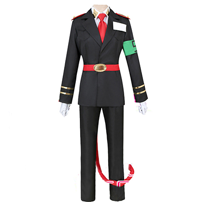 Nanbaka Gokuusamon NO.5 Jailor Uniform Cosplay Kostym Manga
