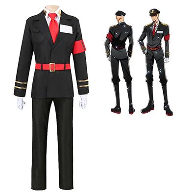 Nanbaka Sugoroku Hajime NO.13 Jailor Uniform Cosplay Kostyme Anime