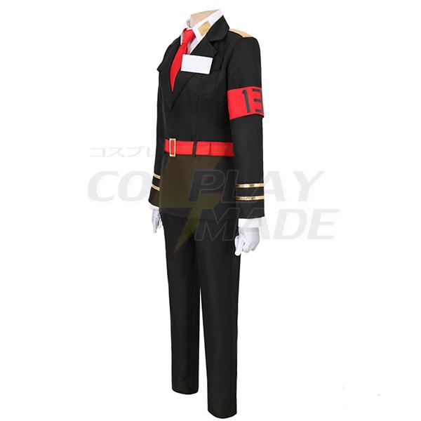 Nanbaka Sugoroku Hajime NO.13 Jailor Uniform Cosplay Costume Anime
