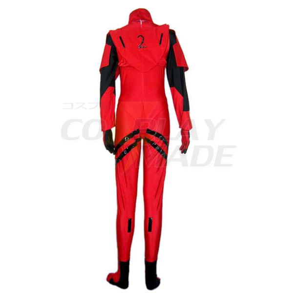 Neon Genesis Evangelion Soryu Asuka Langley EVA-2 Cosplay Costume
