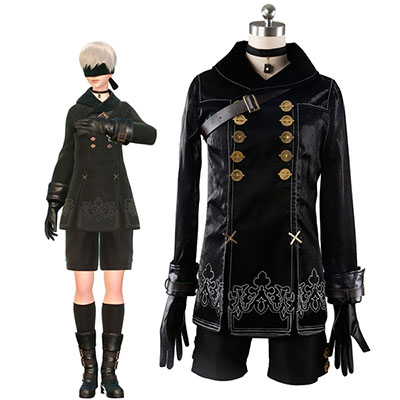 Nier: Automata YoRHa No.9 Type S (9S) Cosplay Costume Custom Made