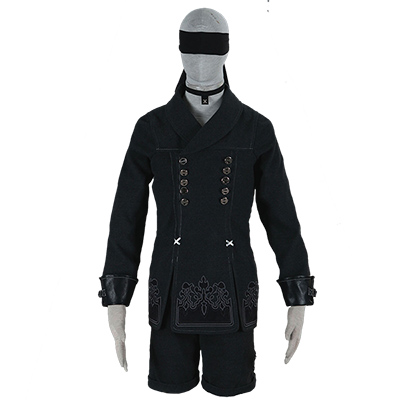 Nier: Automata YoRHa No. 9 Type S Cosplay Costume Unisex Adult