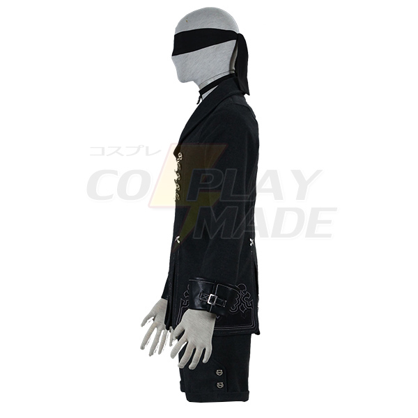 Nier: Automata YoRHa No. 9 Type S Cosplay Costume Unisex Adult
