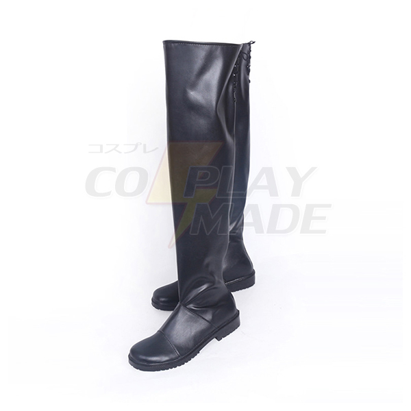 NieR Automata 2B Low-heel Cosplay Shoes Boots Professional Handmade
