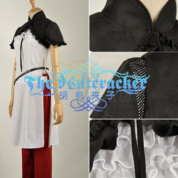 Nier Automata Devola Popola Cosplay Costume Stage Clothes Perfect Custom
