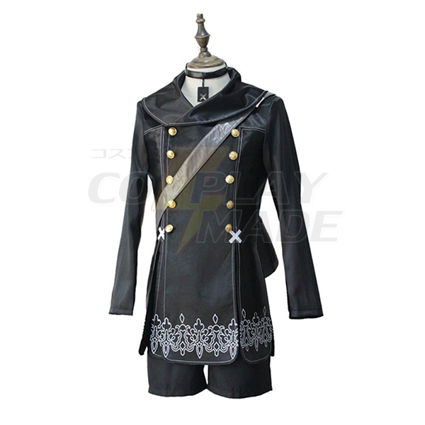 Nier: Automata YoRHa Cosplay Black Uniform Costume role YoRHa No.9 Cosplay Suits