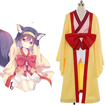 No Game No Life Hatsuse Izuna Cosplay Costume Custom Made