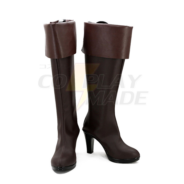 Noragami Aragoto Bishamon Cosplay Boots Custom Made Shoes