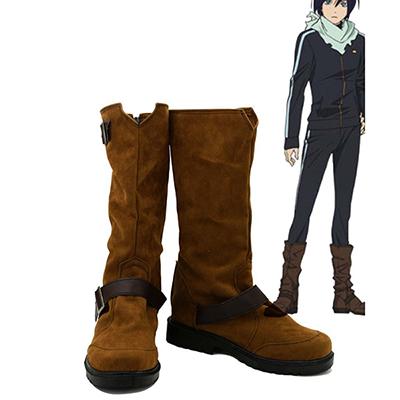 Noragami Aragoto Yato Cosplay Kostüme Schuhe Stiefel Nach Maß Suede