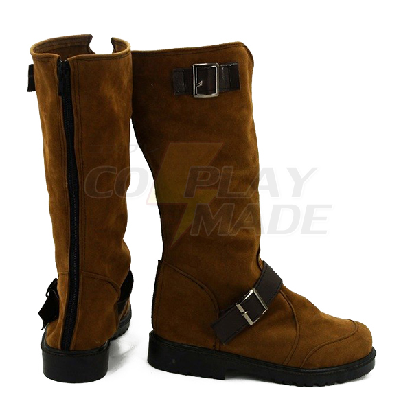 Noragami Aragoto Yato Cosplay Shoes Boots Custom Made Suede