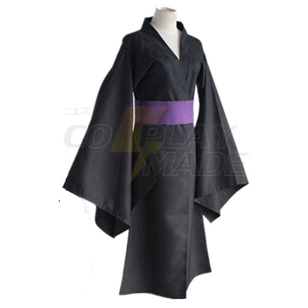 Noragami Iki Hiyori Noragami Yato Black Kimono Yukata Cosplay Costume