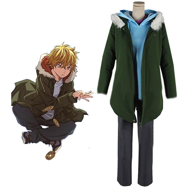 Noragami Yukine Cosplay Costume Custom Made