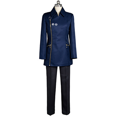 Occultic;Nine 9 Sarai Hashigami Cosplay Costume Suit Blue Outfit