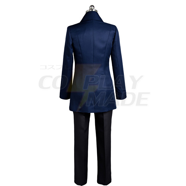 Disfraces Occultic;Nine 9 Sarai Hashigami Cosplay Suit Azul Traje