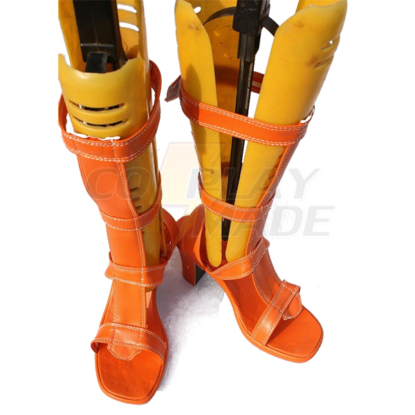 One Piece Anime Nami Cosplay Shoes Boots Custom Made