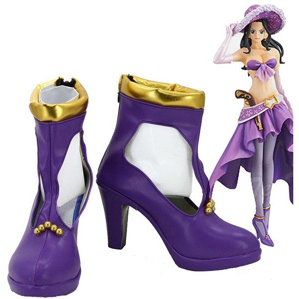 Zapatos One Piece Anime Nico Robin Cosplay Botas Carnaval