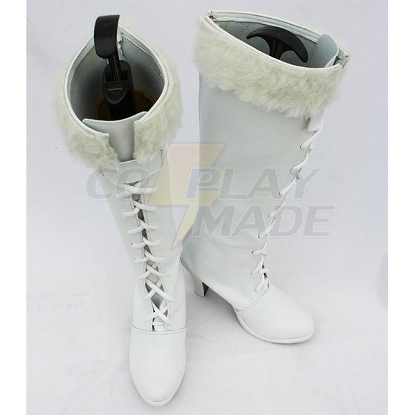 Zapatos One Piece Anime Nico Robin Cosplay Botas White Carnaval