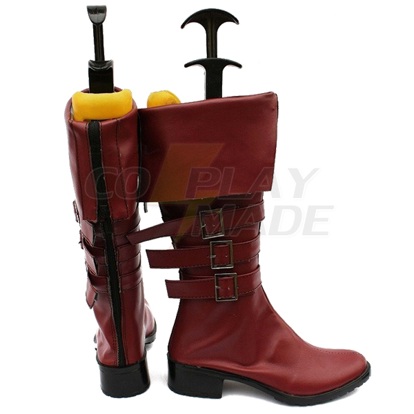 Zapatos One Piece Anime Perona Cosplay Botas Carnaval Marrón