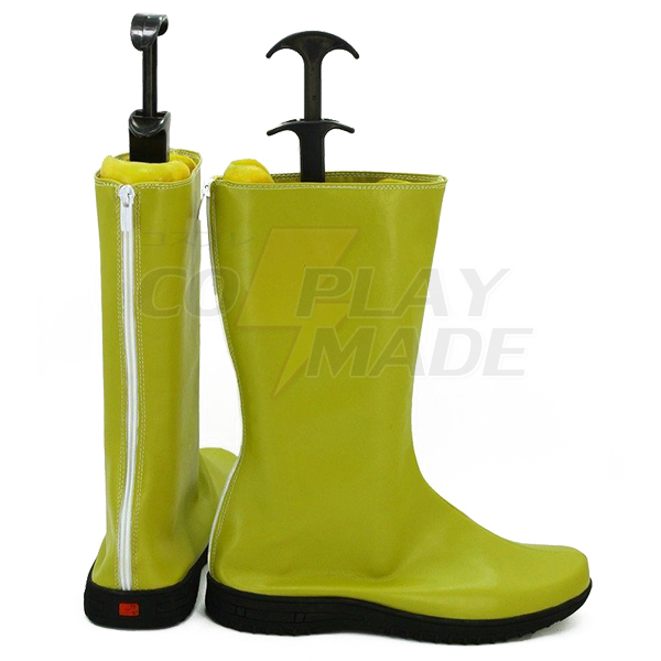 One Piece Anime Usopp Cosplay Shoes Boots Yellow Custom Made