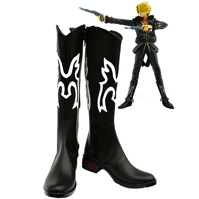 One Piece Anime Vinsmoke Sanji Cosplay Cipő Csizma Halloween