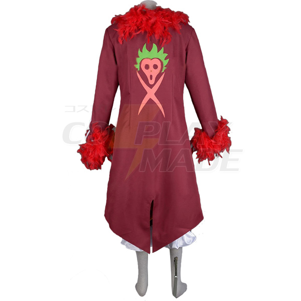 One Piece Bartolomeo Cosplay Costume Tailor Made Any Size