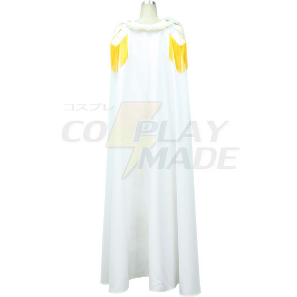 Disfraces One Piece Boa Hancock White Vestido Cosplay
