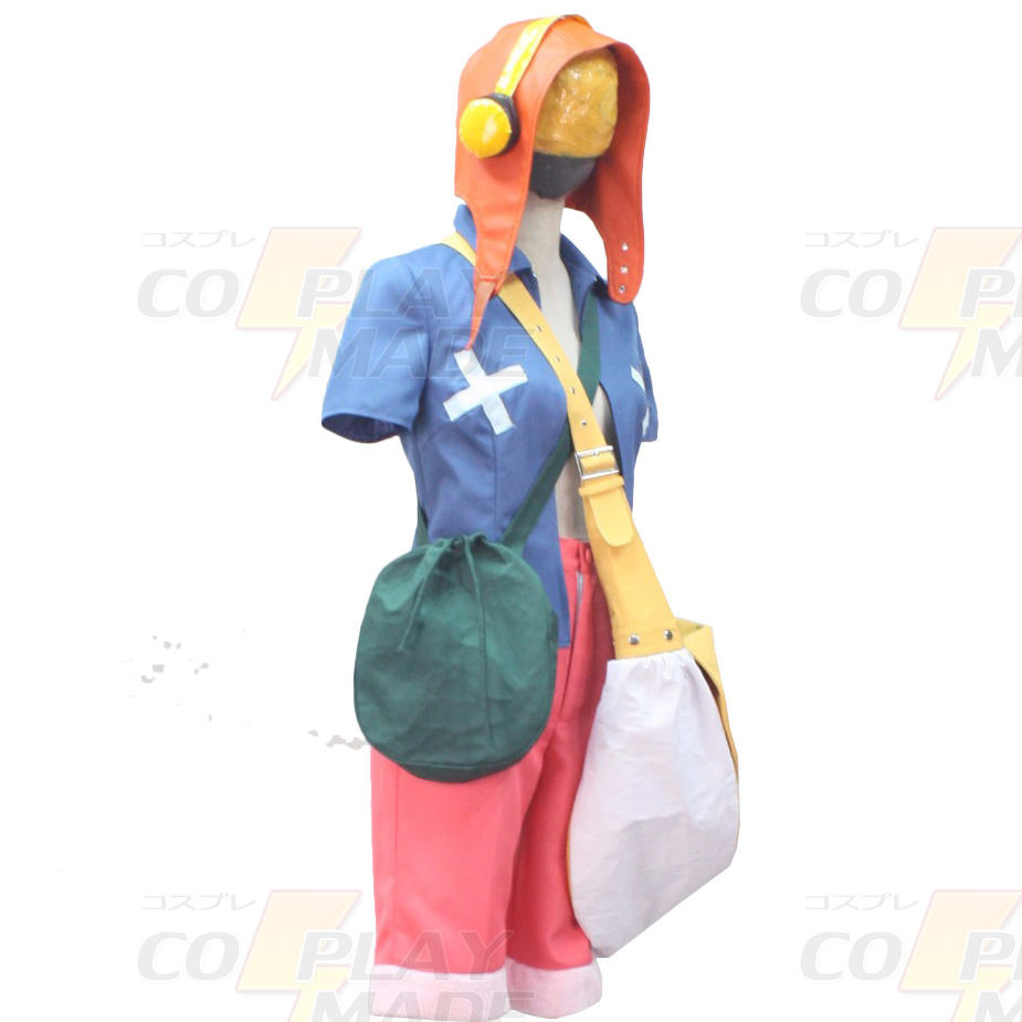 One Piece Film Strong World Monkey D Luffy Cosplay Costume