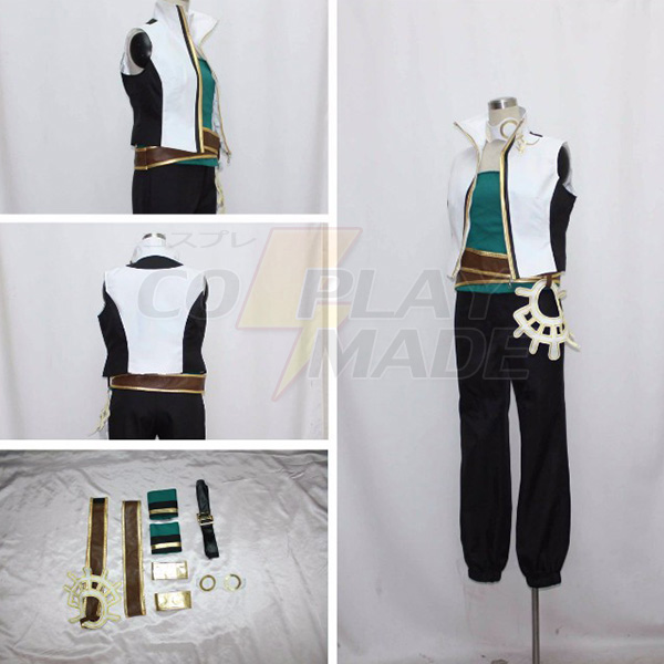 One Piece Roronoa Zoro Sword Master Cosplay Costume Custom Made