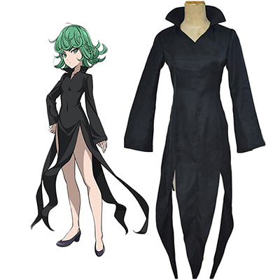 Fantasias de One-Punch Man Tatsumaki Cosplay Carnaval