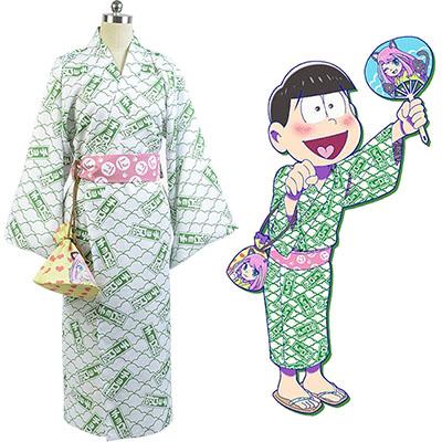 Fantasias de Osomatsu-kun Choromatsu Yukata Kimono Cosplay