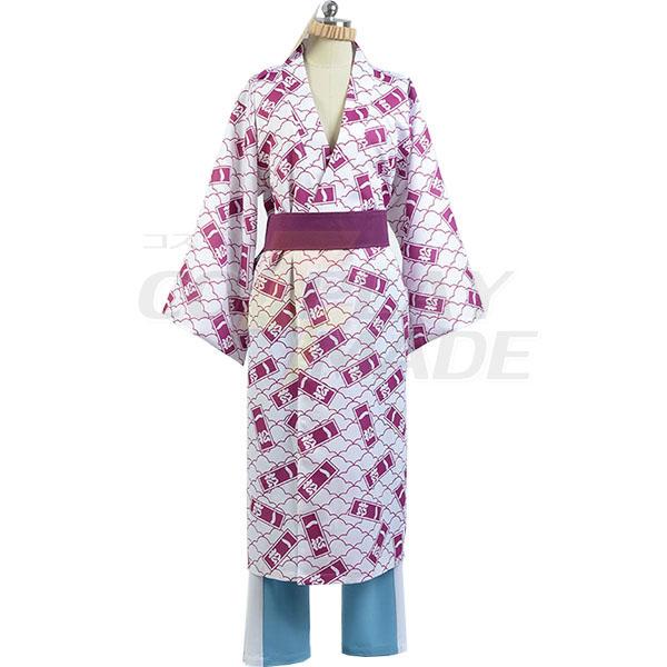 Osomatsu-kun Ichimatsu Yukata Kimono Cosplay Costume