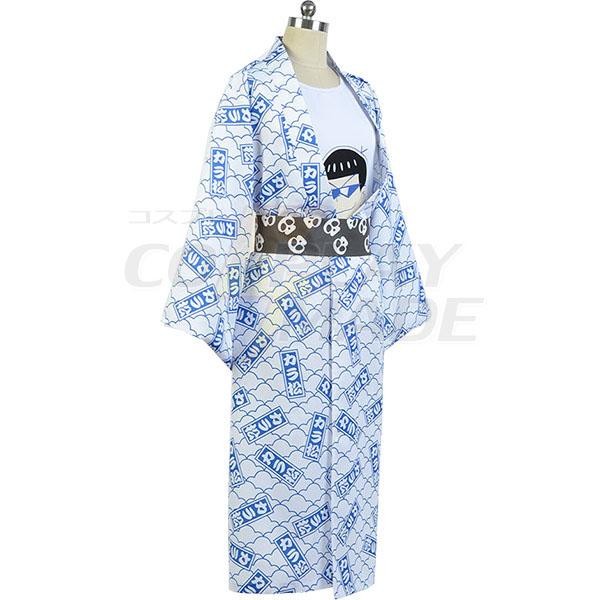 Osomatsu-kun Karamatsu Yukata Kimono Cosplay Costume