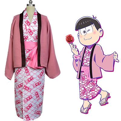 Fantasias de Osomatsu-kun Todomatsu Yukata Kimono Cosplay