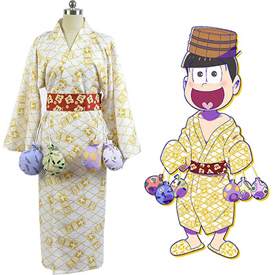 Fantasias de Osomatsu-kun Touximatsu Yukata Kimono Cosplay