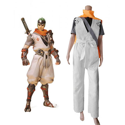 Overwatch OW Young Genji Cosplay Costume Custom Made