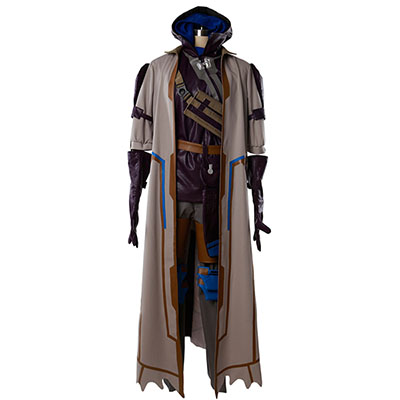 Overwatch Game OW Ana Cosplay Costume Custom Made