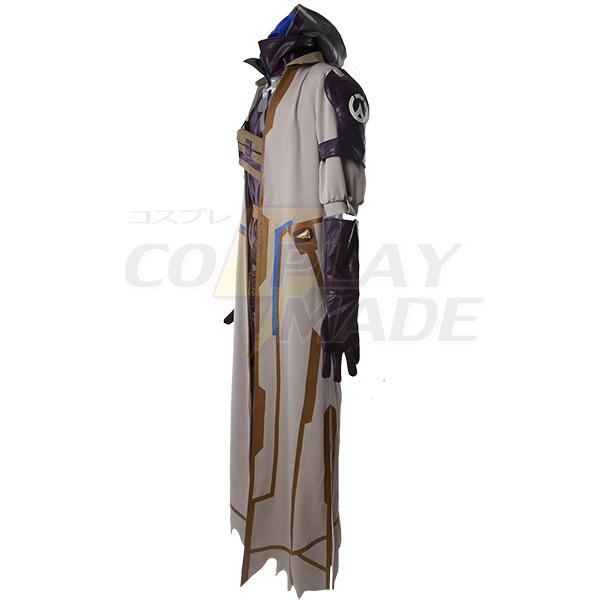 Overwatch Game OW Ana Cosplay Costume Custom Made