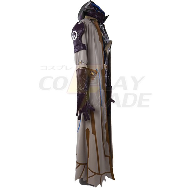 Costumi Overwatch Gioco OW Ana Cosplay Carnevale