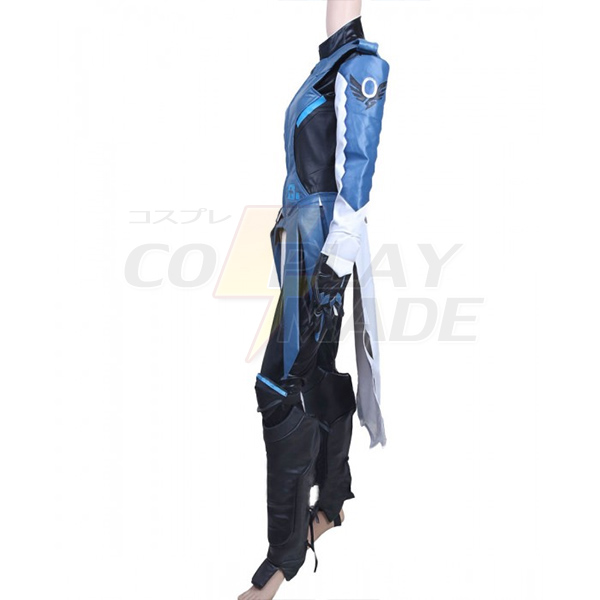 Overwatch Game OW Cobalt Mercy Cosplay Costume Custom Made