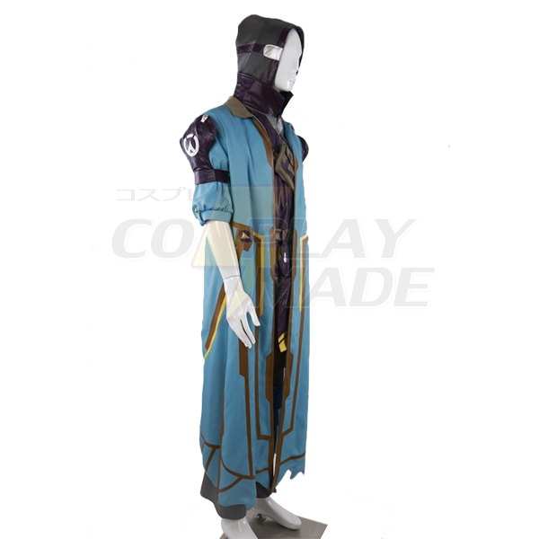 Overwatch Game OW Ghoul Ana Cosplay Costume Custom Made