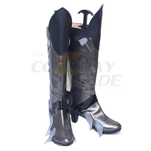 Zapatos Overwatch OW Widowmaker Cosplay Botas Carnaval