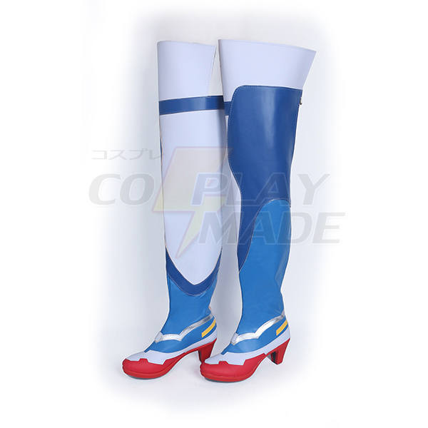 Overwatch OW Angela Ziegler Cosplay Boots Shoes Custom Made