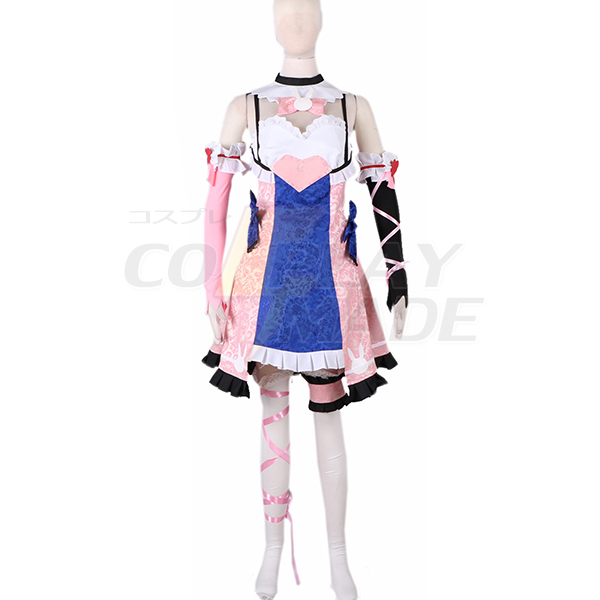 Overwatch OW Hana Song D.Va Lolita Dress Cosplay Costume Custom Made