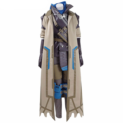 Costume Overwatch Game OW Ana Cosplay Déguisement Carnaval Ana Cosplay