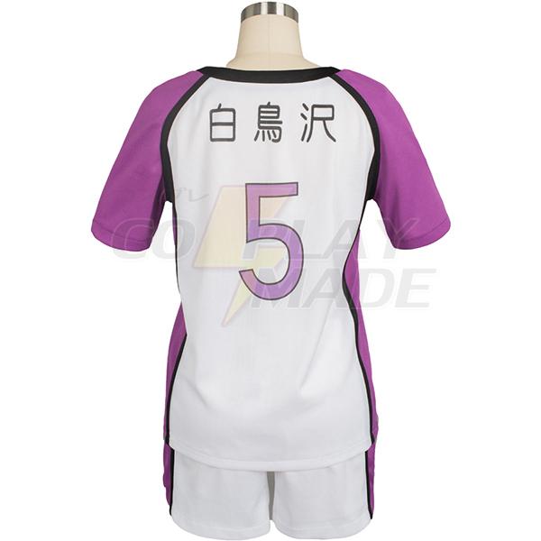Disfraces Haikyu Haikyuu Shiratorizawa Academy Satori Tendo Uniforme Cosplay