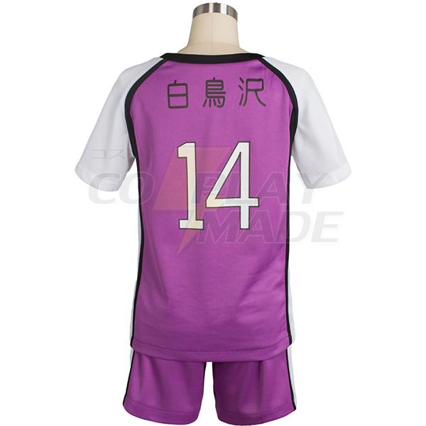 Haikyu Haikyuu Shiratorizawa Academy Libero Yamagata Uniform Cosplay Costume