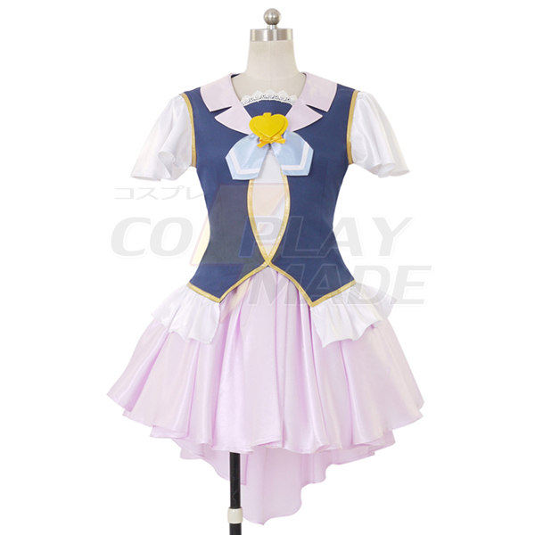 Disfraces Happiness Charge PreCure Cure Fortune Vestido Lolita Cosplay