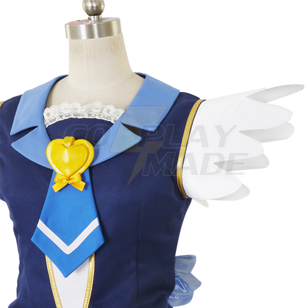 Costumi Happiness Charge PreCure! Cure Principessa Lolita Vestito Cosplay